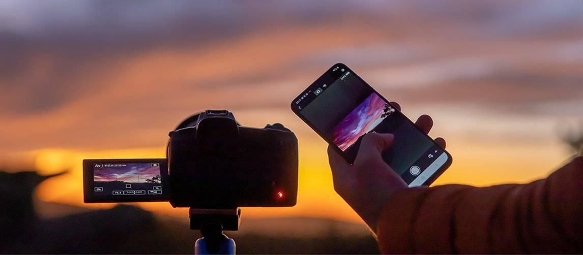 Canon EOS Ra - Connessione