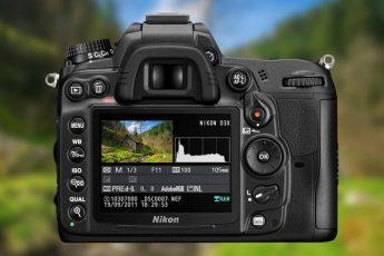 Istogramma fotocamera