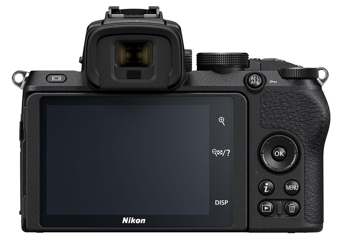 Nikon Z50 Back