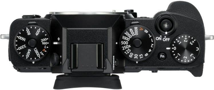 Fujifilm X-T3 Top